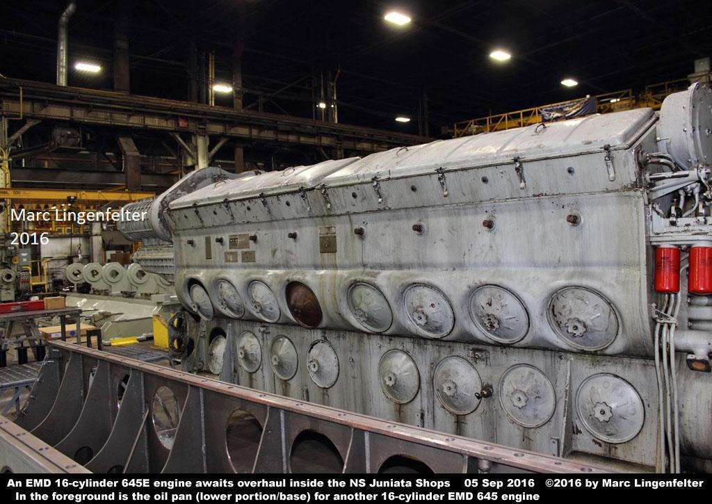 Fuel Truck Wheels >> NS Juniata Locomotive Shop - Photo Tour - Photo Page 1