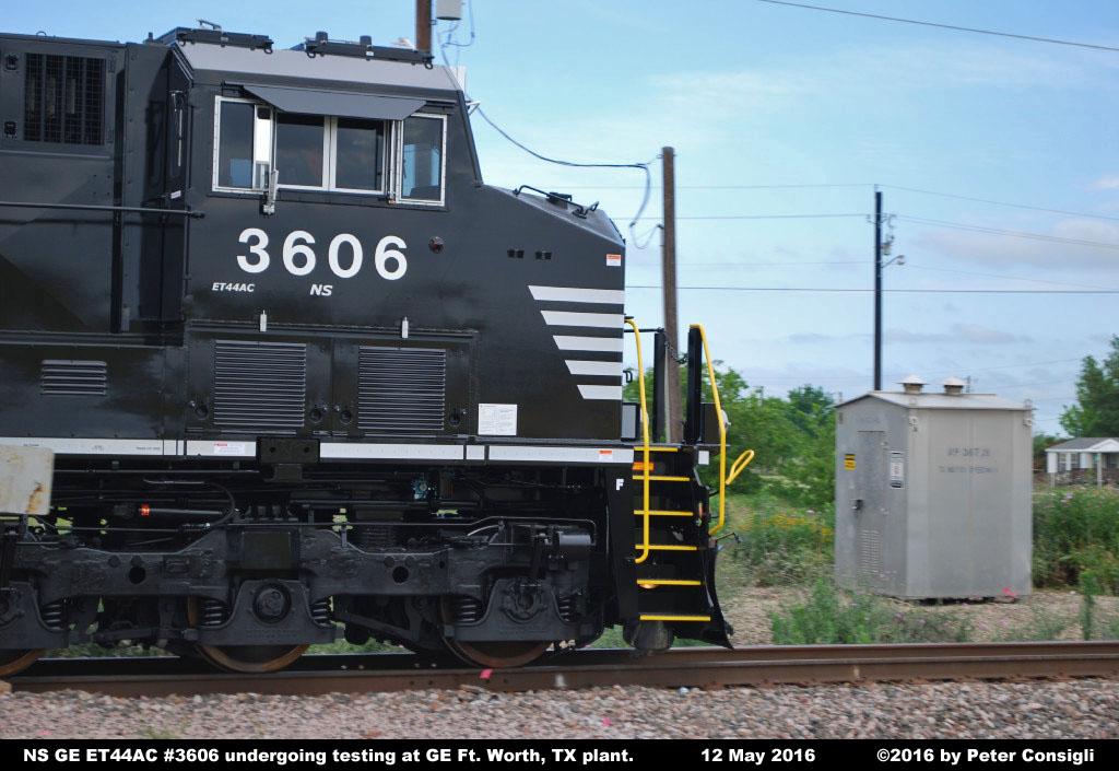 Norfolk Southern Ge Et44ac Locomotive Photos