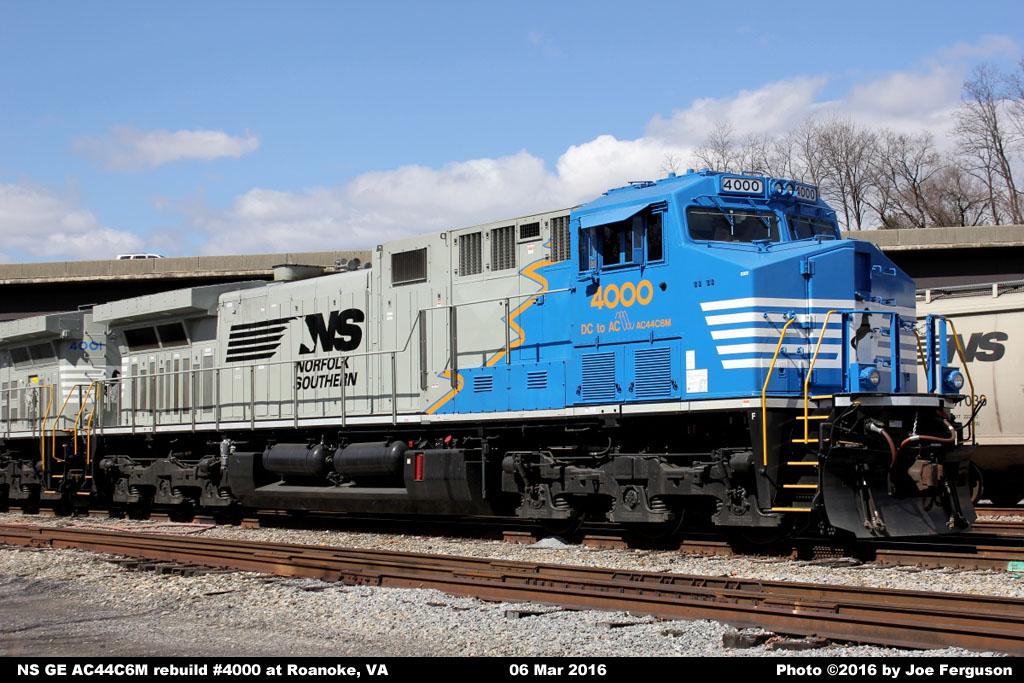 Ns Diesel Locomotive Roster Ge Ac44c6m Nos 4000 4274