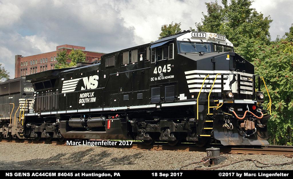 NS Diesel Locomotive Roster - GE AC44C6M Nos  4000-4274