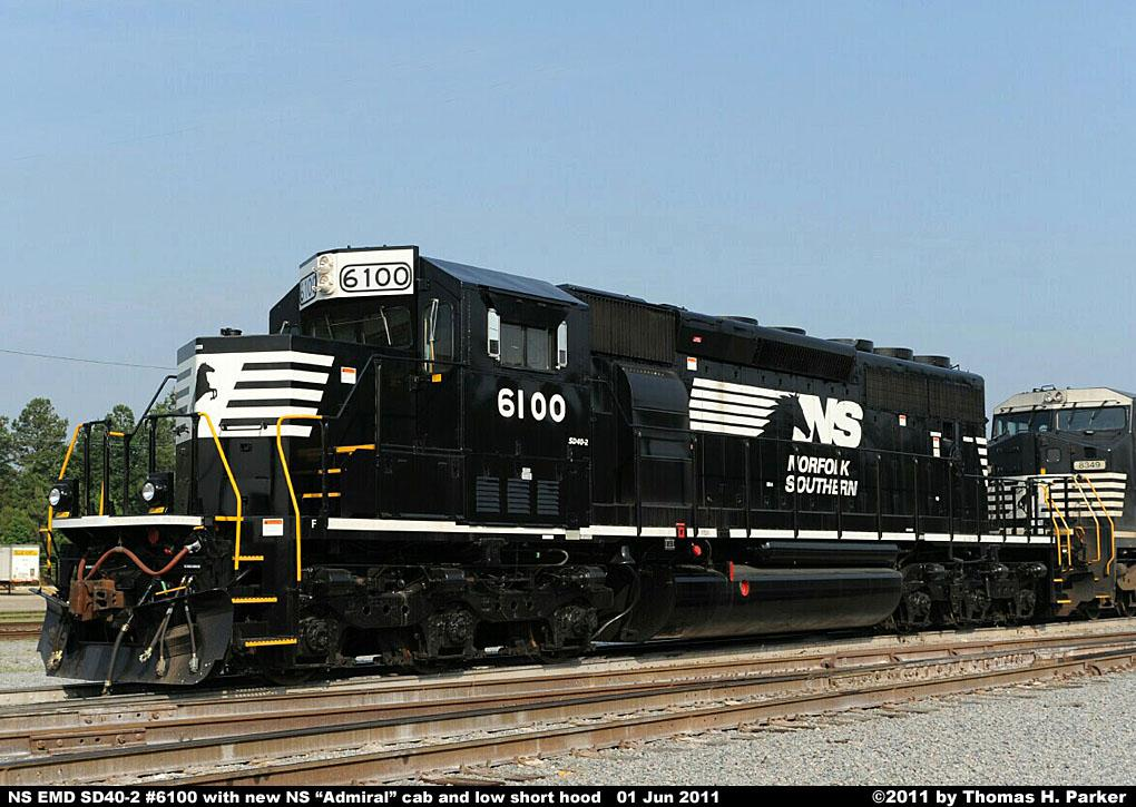NS Diesel Locomotive Roster - EMD SD40-2 Nos. 6073-6205