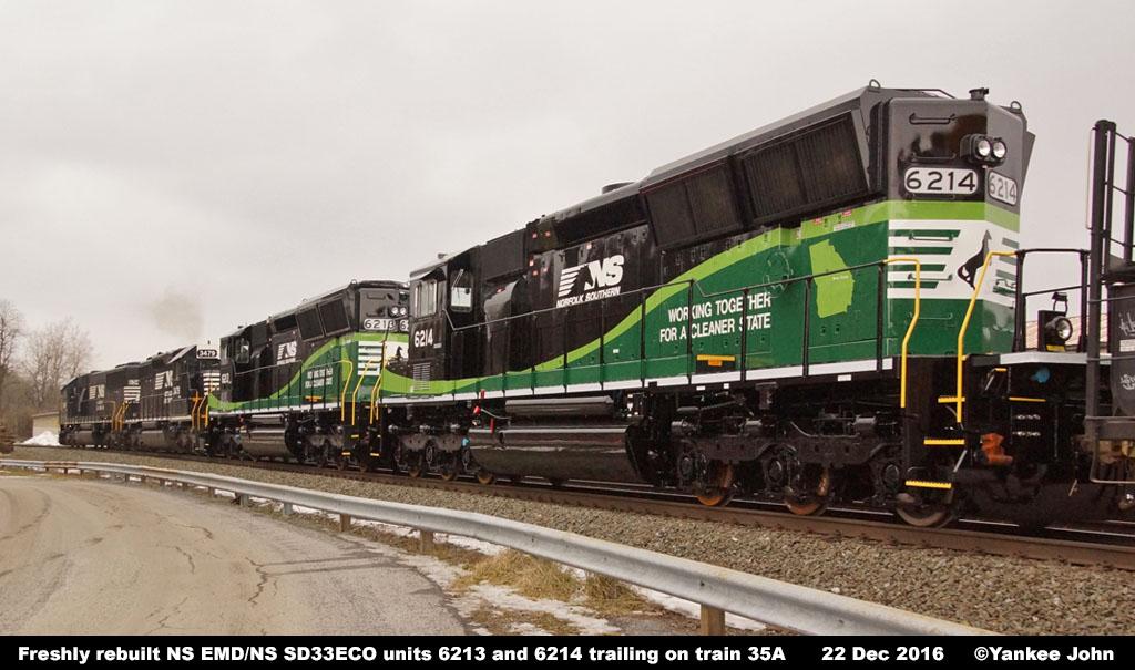 Ns Diesel Locomotive Roster Emd Ns Sd33eco Nos 6210 6214