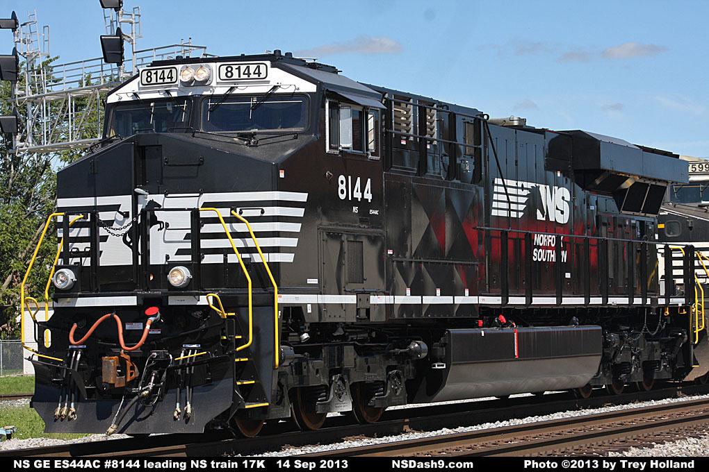 NS Diesel Locomotive Roster - GE ES44AC Nos  8000-8184